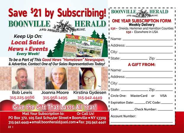 The Boonville Herald image