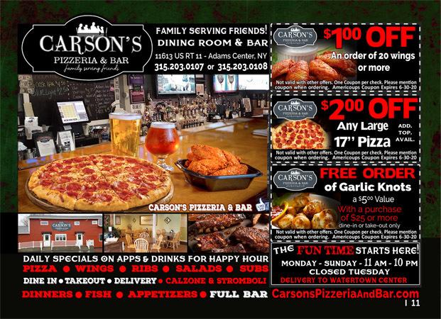 Carson's Pizzeria & Bar image