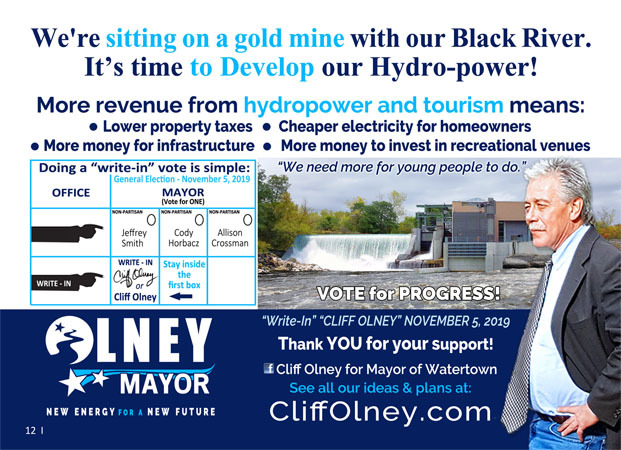 Cliff Olney for Mayor image