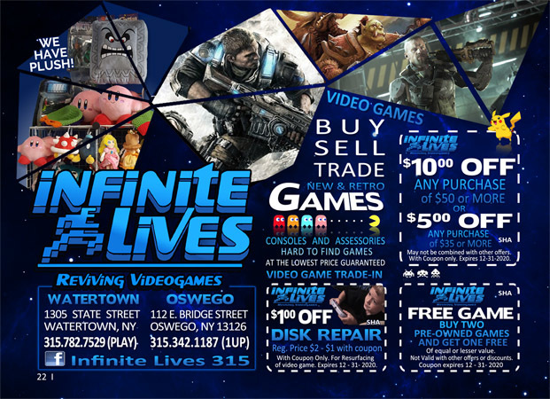 Infinite Lives Video Games image