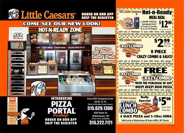 graphic about Little Caesars Printable Coupons referred to as Americoups
