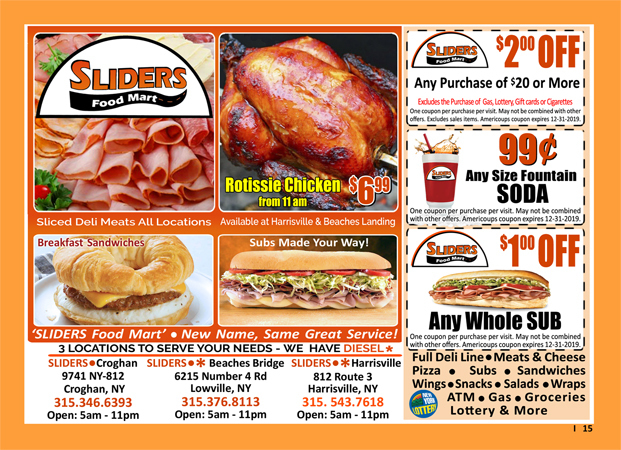 Sliders Food Mart image